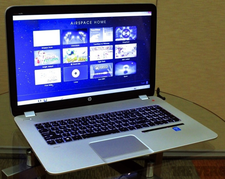 Ноутбук HP Envy 17 Leap Motion Special Edition (фото: theverge.com)